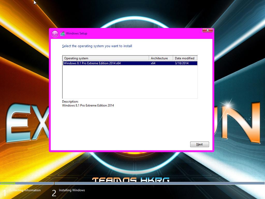 Windows 8.1 Pro Extreme 64bit 2014